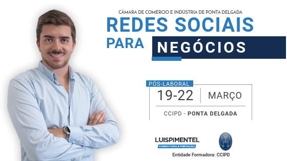 Redes Sociais para Negócios – Formação Pós Laboral